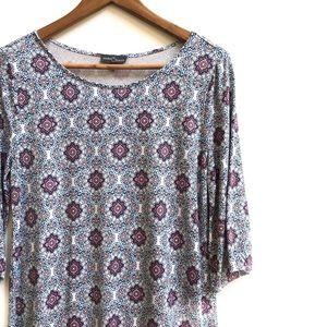 Market & Spruce Stitch Fix printed shift dress